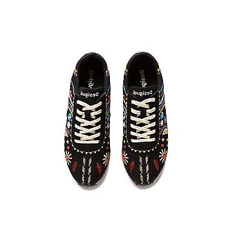 Desigual Pegaso New Exotic Trainers with Embroidery
