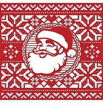 First Edition Christmas Craft a Card Die - Santa
