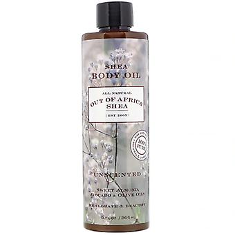 Out of Africa Shea Butter Body Oil Unscented