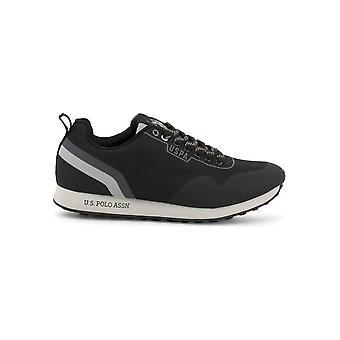 U.S. Polo Assn. - Schuhe - Sneakers - FLASH4119W9-T1-BLK - Herren - black,darkgray - EU 42