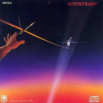 Supertramp - Famous Last Words [CD] USA import