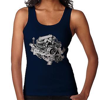 Rover V8 Engine Design British Motor Heritage Women's Vest