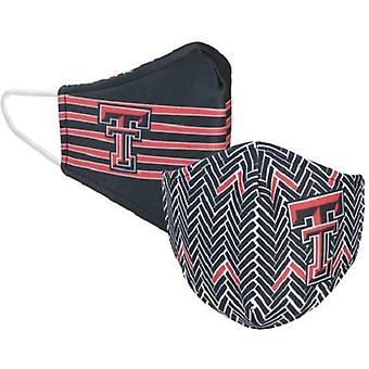 Texas Tech Red Raiders NCAA Desden Máscara Facial Reversível