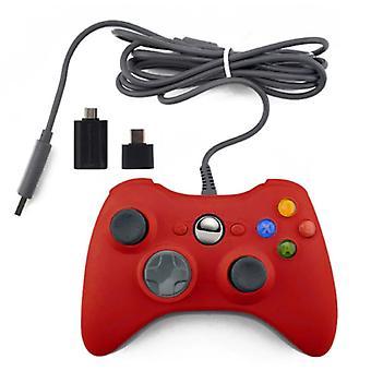 الاشياء المعتمدة® وحدة تحكم الألعاب لأجهزة إكس بوكس 360 / PC - غمبد مع الاهتزاز الأحمر