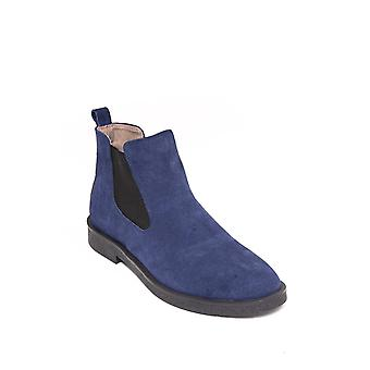 Suede blue chelsea boots | wessi