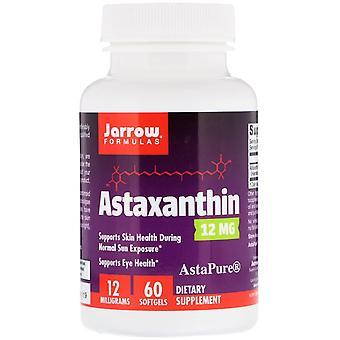 Formules Jarrow, Astaxanthine, 12 mg, 60 Softgels