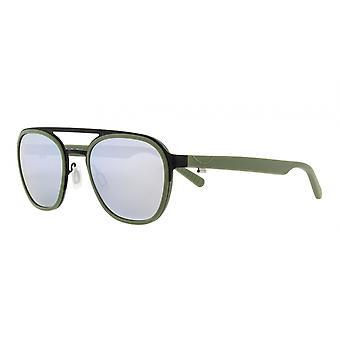 Sunglasses Unisex Sport Clifton matt black/matt green (004P)