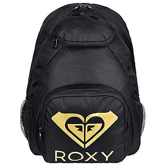 Roxy Shadow Swell Solid Logo Backpack in Anthracite