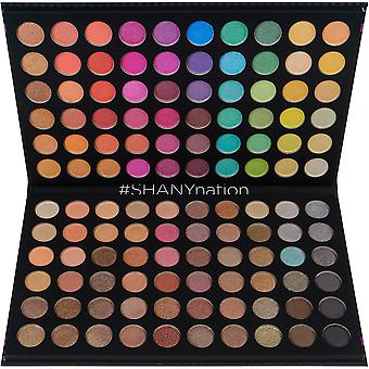SHANY Ultimate Fusion - 120 Color Eye schaduwpalet natuurlijke naakt en neon combinatie