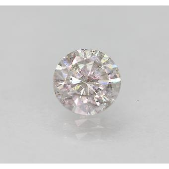 Sertifioitu 0,53 Carat H SI1 round Brilliant Enhanced Natural Loose Diamond 5.11mm