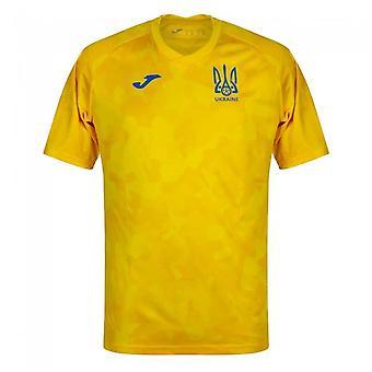 2020-2021 Ukraine Training Shirt (Yellow)
