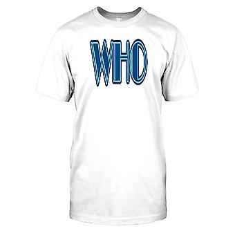 Weltgesundheitsorganisation - Verschwörung-Herren-T-Shirt