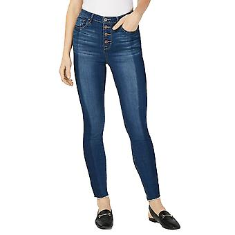 Maison Jules | Fitted Button-Fly Ankle Jeans