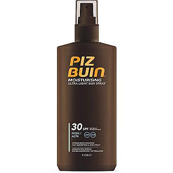 3 x Piz Buin Moisturising Ultra Light Sun Spray SPF30 - 200ml