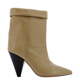 Isabel Marant ÉToile Bo056020a043s50ta Femmes's Beige Leather Ankle Boots