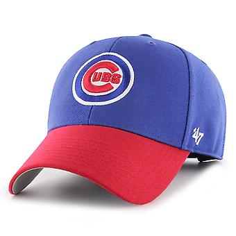 47 Brand Adjustable Cap - MVP Chicago Cubs royal / rot
