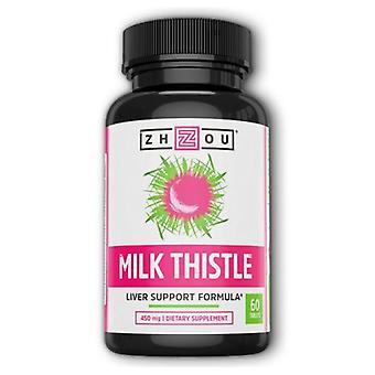 Zhou Nutrition Milk Thistle, 60 Tabs