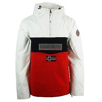 Napapijri Rainforest S Block White Jacket