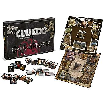 Game of Thrones Cluedo Mystery Board Game, Winning Moves Special Addition