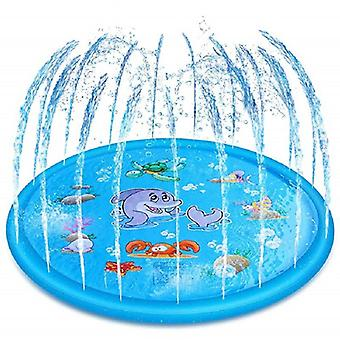 170/100cm Summer's Baby Play Water Mat Games Beach Pad Lawn- Inflatable Spray