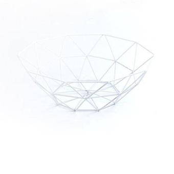 Metal Wire Basket Container Bowl - Kitchen Drain Rack Used For Fruit, Vegetable