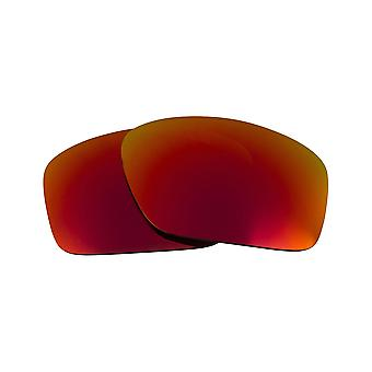 Polarized Replacement Lenses for Oakley Scalpel Sunglasses Anti-Scratch Red