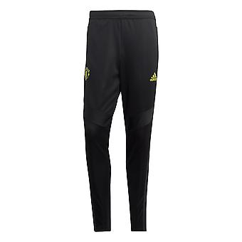 adidas Manchester United MUFC Training Mens Tracksuit Pant Black