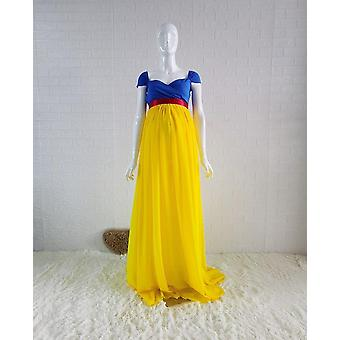 Princess Cosplay Maternity Photography Props Long Pregnancy Photo Shoot Dresses