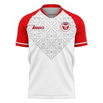 Tunisie 2020-2021 Home Concept Football Kit (Libero)
