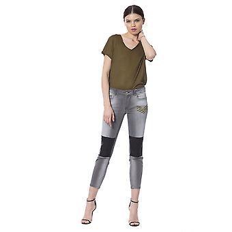 Silvian Heach Women's Grey Jeans