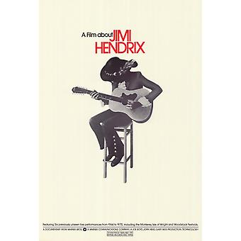 Фильм о Jimi Hendrix A фильм плакат печать (27 x 40)