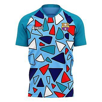 Barcelona 2020-2021 Trzeci Concept Football Kit (Libero)