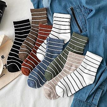 Set de calcetines stripe Crew