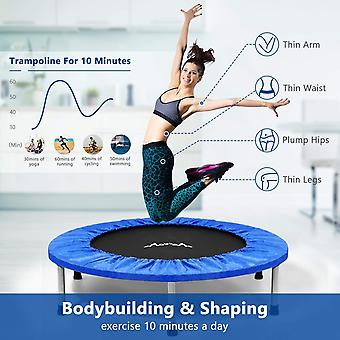Homemaxs MOVTOTOP Indoor trampoline, Exercise Trampoline,Max Load 220lbs