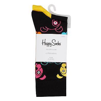 Happy Socks Mens 2021 Dog Novelty Cotton Comfort Regular Fit 2 Pack Socks