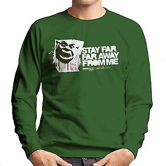 Shrek ophold langt langt væk fra mig Mænd's Sweatshirt