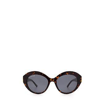 Balenciaga BB0133S havana gafas de sol femeninas