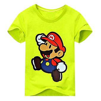 Unisex Short Sleeve Cartoon Tshirt , Design 2, Infant