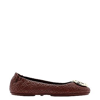 Tory Burch 50736602 Women's Burgundy Leather Flats