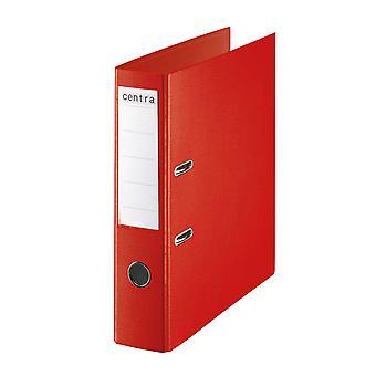 Rapid A4 Folder Lever Arch File 75mm Polypropylene Red