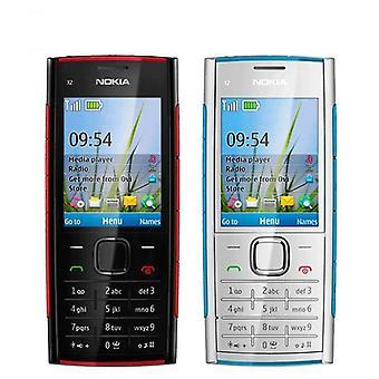 تجديد X2-00 بلوتوث 5MP الهاتف المحمول مقفلة