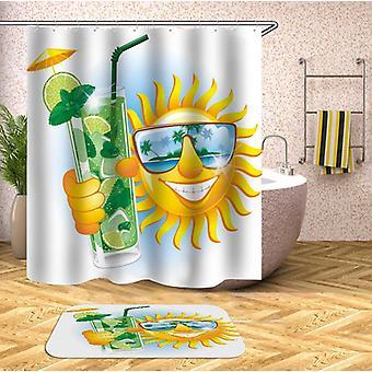 Drinking Mojito Sun Shower Curtain