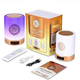 Remote Control Wireless Bluetooth Muslim Quran Speaker Color Changeable Touch