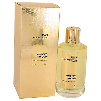Mancera Kumkat madera Eau De Parfum Spray (Unisex) por Mancera 4 oz Eau De Parfum Spray