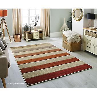 Portland rayas ancho alfombra Beige