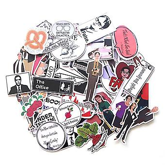 Motorcycle And Suitcase Laptop Sticker Skateboard Sticker Mobile Phone