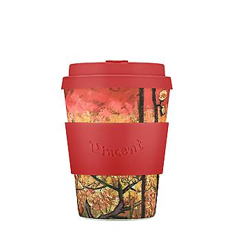 eCoffee Reusable Cup Van Gogh Museum Bamboo Eco-Friendly Travel Mugs 12oz - 14oz