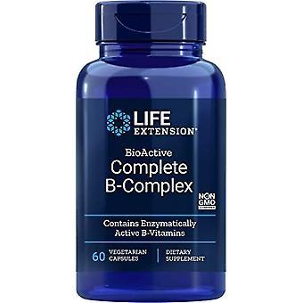 Life Extension BioActive komplette B-Complex 60 Veggie-Kapseln