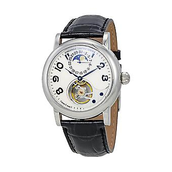 Frederique Constant Heart Beat Silver Dial Men's Watch FC-915AS4H6