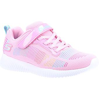 Skechers kid's bobs squad fresh delight sports trainer various colours 32093